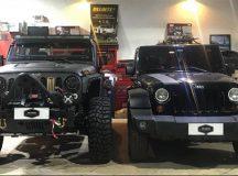 RW Garage: oficina completa para Wrangler e Troller