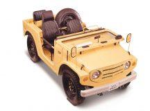 Primeiro Suzuki Jimny (LJ10) estreou em 1970 no Japão (Divulgação / Suzuki)