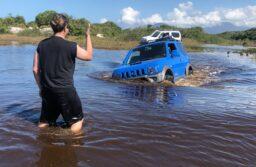 Passeio 4×4 nas lagoas do Litoral Paulista