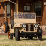 Primeiro Jeep® civil, CJ-2A completa 75 anos