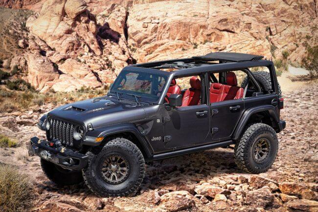 Jeep® apresenta Wrangler Rubicon 392 6.4l V8