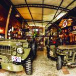 Patio 42: espaço carioca traz história militar e antiguidades