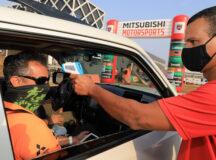 Debaixo de muito Sol, temporada 2020 do Mitsubishi Motorsports começou em São José dos Campos