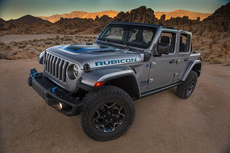 Novo Jeep Wrangler 4xe Hibridro Com Turbo Compressor De 350cv Mais Off Road