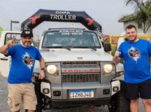 Tiago e Gustavo ficaram com o primeiro lugar da categoria Master - Crédito: Divulgação Copa Troller