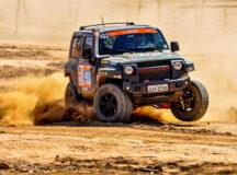 Competidores largam de Brasília (DF) e seguem até Barreirinhas (MA) - Crédito: Angelo Savastano