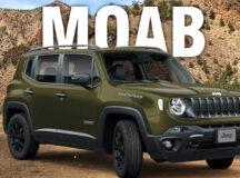 Jeep explora o deserto de Moab