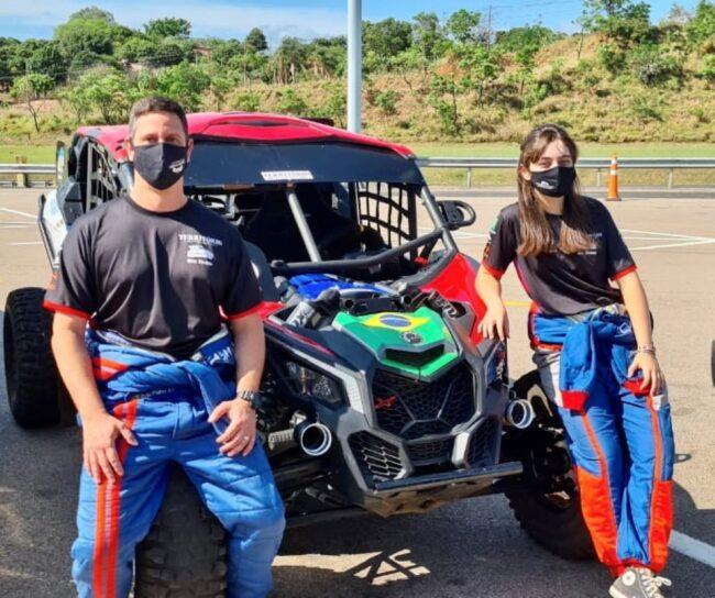Rally Serra Azul: Nicole Piano/Manuel Ruivo completam o 1º dia e pontuam para o Brasileiro