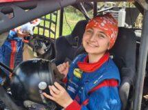 Aos 14 anos, a piloto de UTV, Nicole Piano, disputa no fim de semana mais um Rally Serra Azul