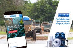 MWM lança site de vendas de peças para veículos off-road