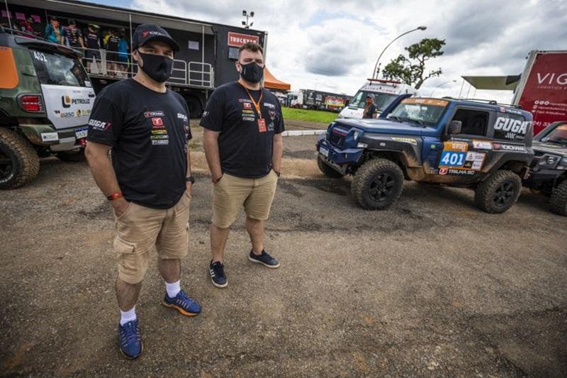 Guga Racing vence primeira prova e lidera Rally Regularidade no Sertões