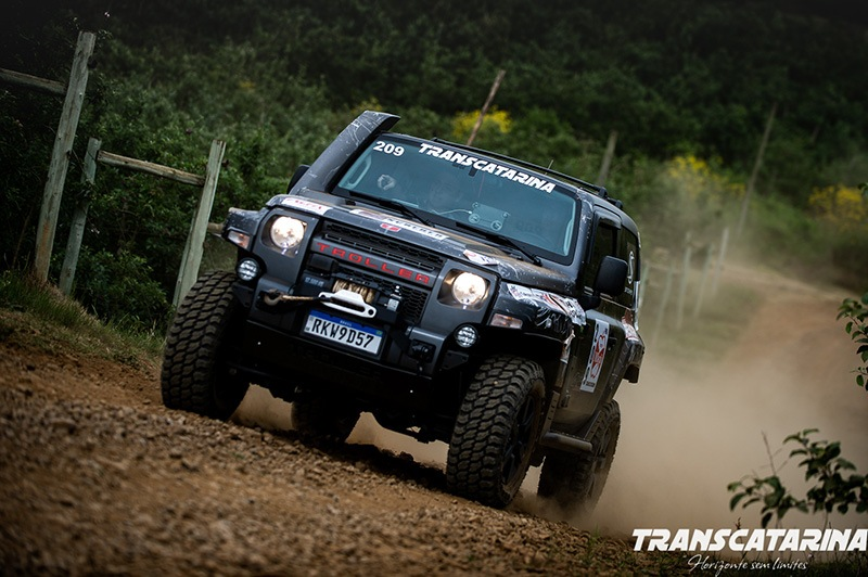 GS Racing no Transcatarina Rally de Regularidade Troller