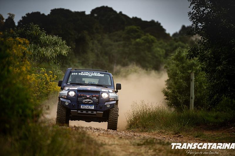 GS Racing no Transcatarina Rally de Regularidade Troller