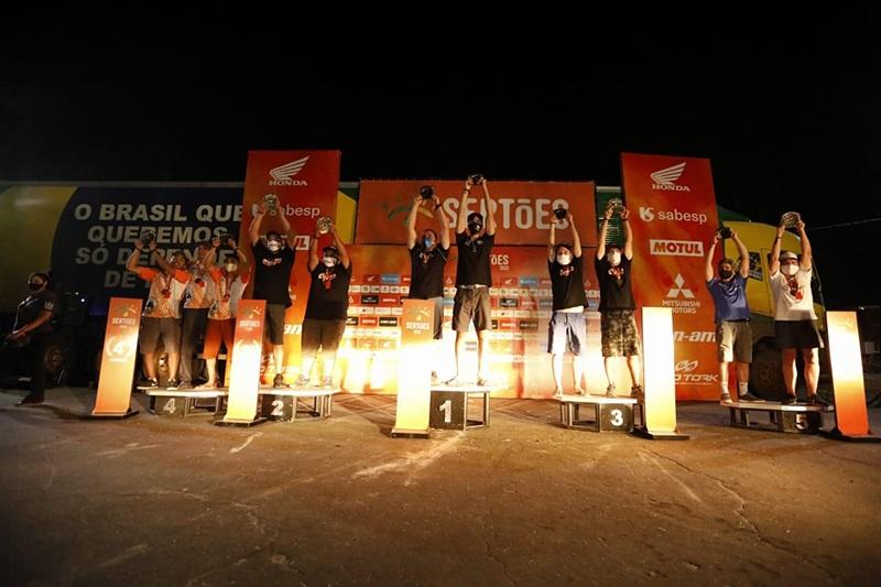 Regularidade traz novos campeões no Sertões