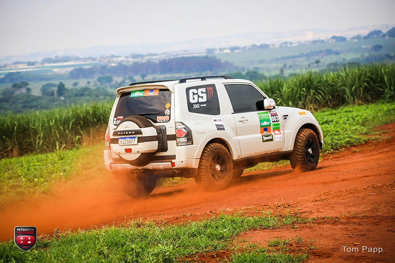 Mitsubishi Motorsports Rally Regularidade GS Racing Pajero