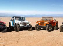 Jeep® e Jeep Performance Parts apresentam seus carros conceito para o Easter Jeep Safari 2021