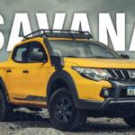 Mitsubishi apresenta quarta geração da L200 Triton Savana