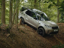 """""""Novo Discovery 2021 – Redescubra o seu mundo. E com toda a família."""" É a assinatura da nova campanha da Land Rover"""