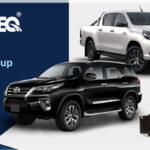 Dicas para troca das pastilhas de freio da pick-up Toyota Hilux e SW4