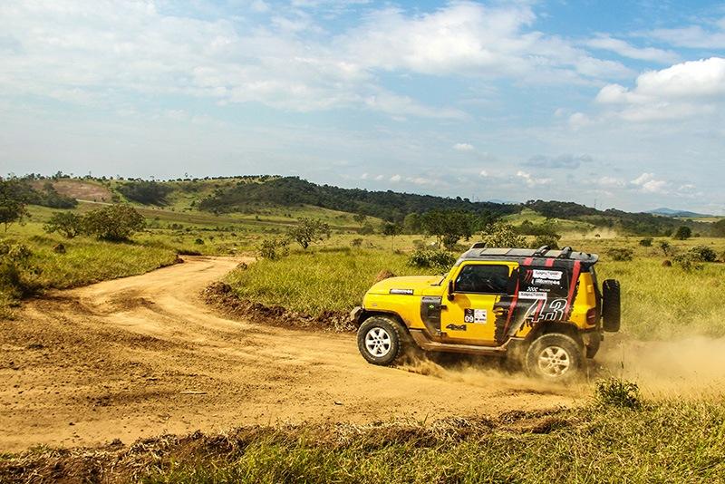 Troller GS Racing na prova de rally regularidade do Paulista Off-Road