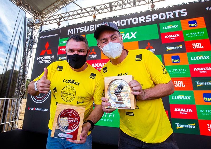 Mitsubishi Motorsports Pajero GS Racing